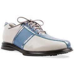 Sandbaggers Ladies Krystal Lace Golf Shoes - Royal
