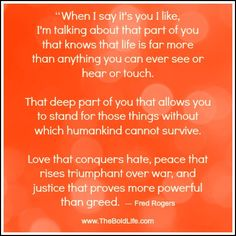 Love that conquers hate, peace that rises triumphant over war...