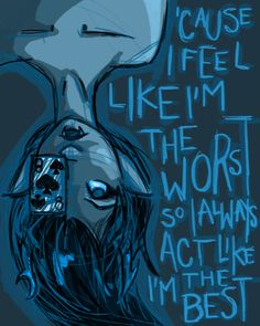 Vriska Serket -- Homestuck-- once again using some of my favorite song lyrics <3 this picture is beautiful and totally Vriska <3