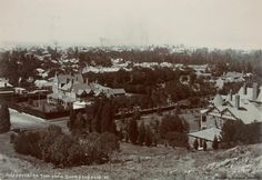 View of Johannesburg from the top of Nugget Hill 1912