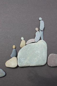 Rosely Pignataro: Decorando com pedras                                                                                                                                                      Mais