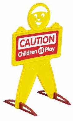 KidAlert Visual Warning Signal Kid Dummy Outdoor Safety