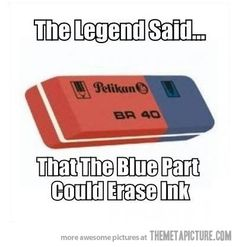 Nope it didn't It put holes in the paper. But every pencil case when I went to school had one in it!