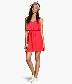 Sleeveless dress #dress #women #covetme #h&m