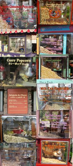 Tokyo Disney Popcorn