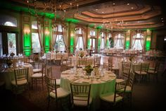 Uplighting transforms the ambiance of any room.  Read more about it on our website.  http://fortmyersdj.com/wedding-receptions/uplighting-your-room/