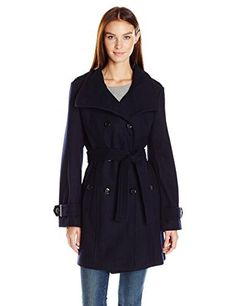 "This wool coat is double breasted, has a stand collar and a belt.   	 		 			 				 					Famous Words of Inspiration...""Ocean: A body of water occupying 2/3 of a world made for man...who has no gills.""					 				 				 					Ambrose Bierce 						— Click here for more from Ambrose...  More details at https://jackets-lovers.bestselleroutlets.com/ladies-coats-jackets-vests/wool-pea-coats/product-review-for-calvin-klein-womens-wool-belted-double-breasted-coat/"