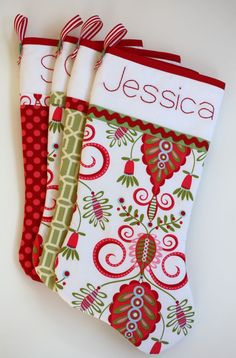 DIY stockings- I need to make something cute for Eisley!