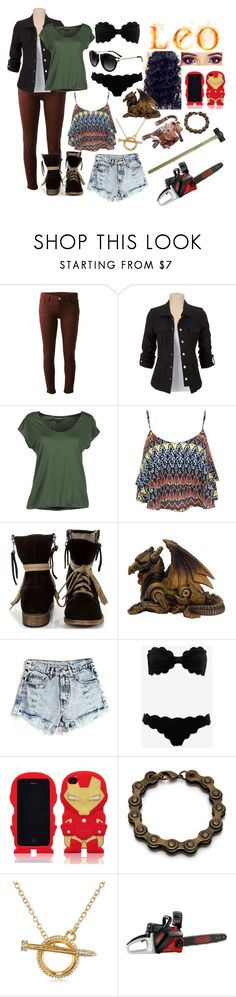 """""""Summer Collection"""" by demigod-outfits ❤ liked on Polyvore featuring dVb Victoria Beckham, Emporio Armani, Miss Selfridge, MTNG, Marysia Swim, Marvel and CC SKYE"""