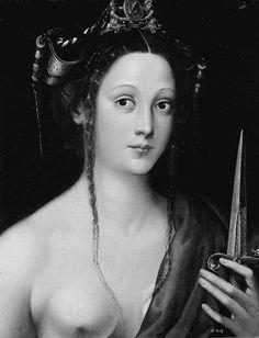 Lucretia, Jacopino del Conte, (1510-1598).