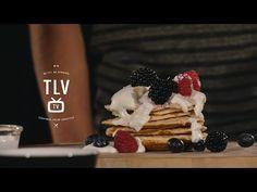 Verrukkelijke vanille eiwit pannenkoeken - YouTube