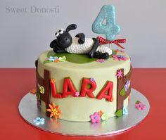 La oveja Shaun / shaun the sheep cake