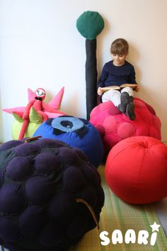 Saari_kids furniture.  Designed by Veronica Lassenius , handmade by Soffan Verhoomo.
