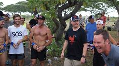 The Kona 2015 Beer Mile was held on Thursday before the big show. Check out some quality photos from the event, and crack a beer for Saturday's NBC coverage Beer Mile, More Beer, Big Show, Triathlon, The 100, Racing, Sports, Running, Hs Sports
