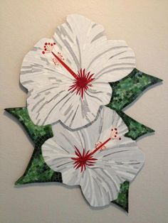 Lovely Hibiscus by Lou Ann Weeks