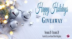 $2200 in Amazon Gift Cards up for grabs! Enter to win 11/20-12/20.