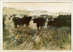 "Robert Wade, Sketchbook ""COWES COWS, Phillip Island"" 1989"