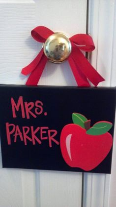 Teacher Appreciation Gift  personalized canvas by AmandaSimpkins, $16.00