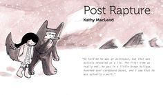 """นิทรรศการศิลปะการ์ตูน """"Kathy MacLeod: Post Rapture by Kathy MacLeod 23 May-7 Jun 2012 @ Opposite, Bangkok http://www.facebook.com/events/229468377164272/"""