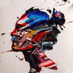 The Generous Brushstrokes of Iranian Painter Salman Khoshroo