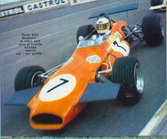 "Derek Bell - Brabham BT30 Cosworth FVA - Wheatcroft Racing - XV B.A.R.C. ""200"" 1970 - Wills Trophy"