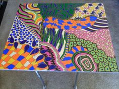 Creative Dawn.  3.99 painted table
