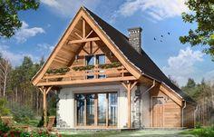 Casă cu structură mixtă, cu suprafata de 82 mp, ideală pentru o familie cu 3-4 membri