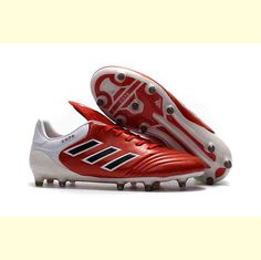 Adidas S77123 | Men's Adidas Copa 17.1 AG Core BlackSolar Red