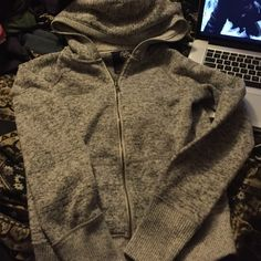 American eagle sweatshirt Like new, soft and warm American Eagle Outfitters Tops Sweatshirts & Hoodies
