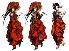 View an image titled 'Yura Concept Art' in our Blade & Soul art gallery featuring official character designs, concept art, and promo pictures. Fantasy Character Design, Character Design Inspiration, Character Concept, Character Art, Blade And Soul Outfits, Hyung Tae Kim, Game Concept Art, Soul Art, Design Girl