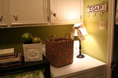 DIY Blogger Laundry Room