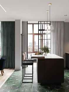 Home Decoration For Anniversary Code: 7380923169 Interior Design Website, Interior Design Kitchen, Modern Interior Design, Small Apartment Interior, Small Apartment Design, Classic Style Bathrooms, Home Design, Tiny Apartments, Home Kitchens