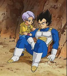 Vegeta And Trunks, Vegeta And Bulma, Anime Love, Dragon Ball Z, Manga, Superhero, Life, Fictional Characters, Father And Son