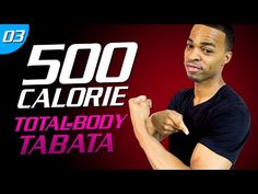 35 Min. Tough Body Tabata | 500 Calorie HIIT MAX Day 03 - YouTube
