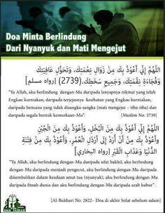 Doa elak nyanyuk and taubat Islamic Dua, Islamic Quotes, My Dua, Doa Islam, Just Pray, All About Islam, Islamic Pictures, Hadith, Quran