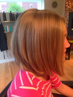 long bob on a little girl!