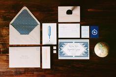 M+K wedding invitations / MURDAAAAA