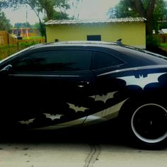 If you are a batman fan you would love this car.