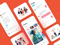 Design Ios, Web Design Agency, Google Material Design, Super Hero Outfits, Android, Mobile App Ui, Mobile Design, Show And Tell, Ios App