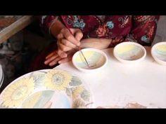 Hand-made ceramics decoration - Artesia Ceramica - Certaldo - Tuscany