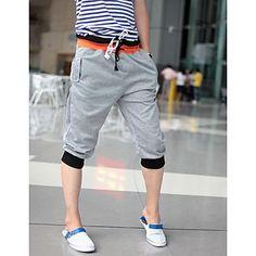 Doble la cintura los pantalones casuales de los hombres – USD $ 11.89