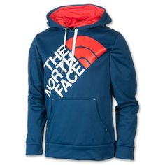 The North Face Inc Men's The North Face Half Dome Hoodie Cosmic Blue/TNF White/Red