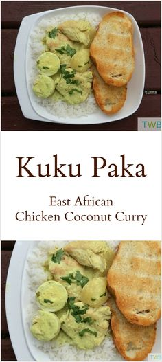 Kuku Paka - East African Chicken in Coconut Curry recipe