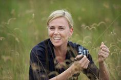 OUR Charlize enjoying the outdoors with her camera shared TUE 5 AUG 2014