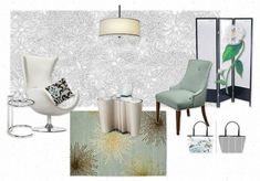 A Classic White Room anytime not just after Labor Day, with Slipcovers for your Walls. Get In The Mood, Design Boards, Classic White, Slipcovers, Mood Boards, Walls, Interior Design, Room, Home Decor