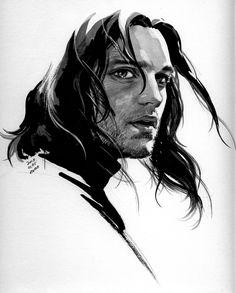 EVANKART - Bucky Barnes the Winter Soldier