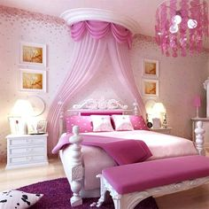 Princess Kids Bedroom Ideas and Designs For Girls