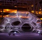 Solar-Powered SOL Dome Lights Up in Response to Atmospheric Carbon Levels in Michigan  Read more: Solar-Powered SOL Dome Lights Up in Response to Atmospheric Carbon Levels in Michigan | Inhabitat - Sustainable Design Innovation, Eco Architecture, Green Building