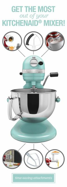 Check out these fabulous mixer gadgets!