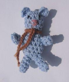 Szydełkowy Teddy   amigurumi w nutka_art na DaWanda.com